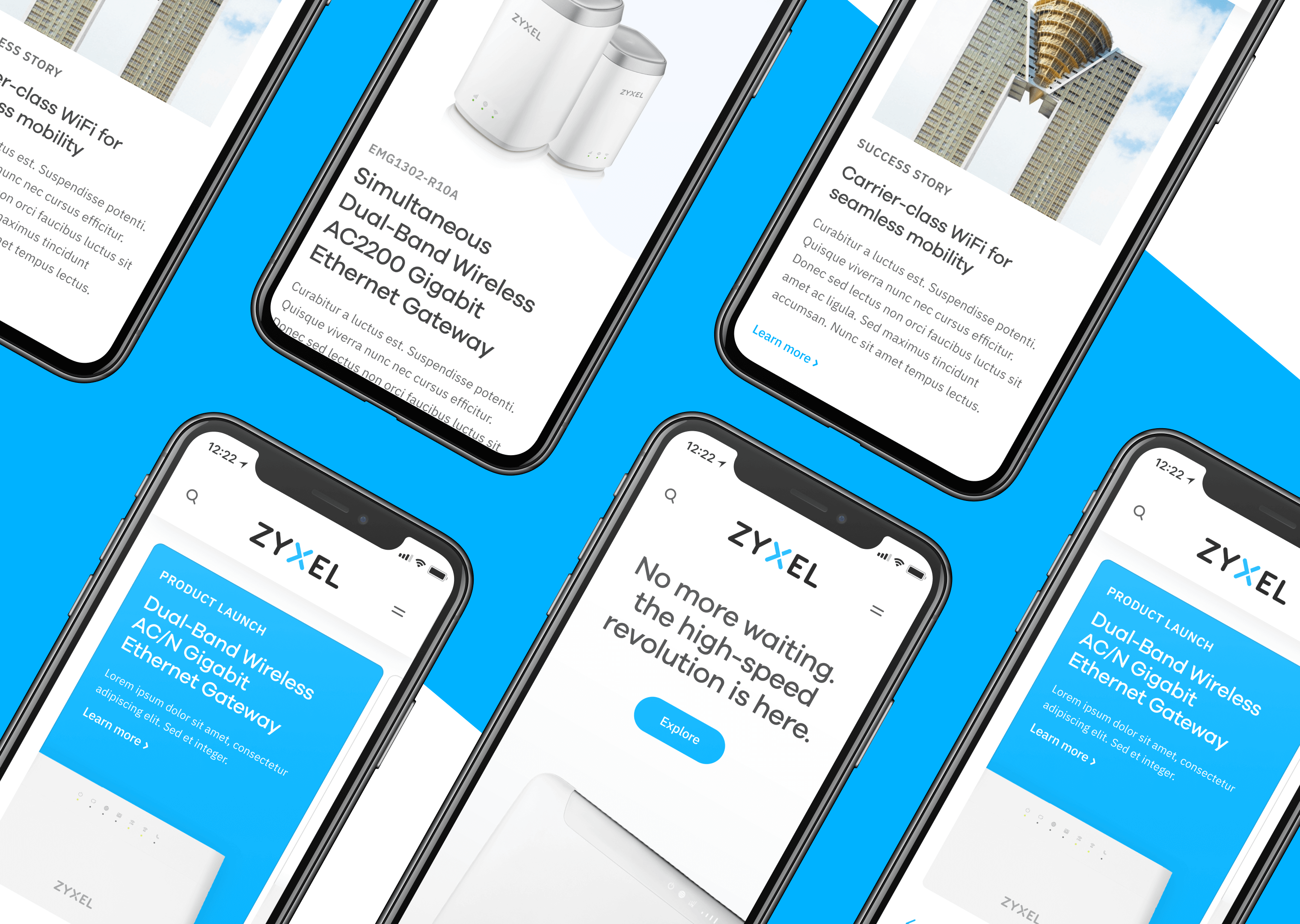 A flexible design system for Zyxel